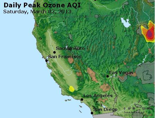 Peak Ozone (8-hour) - http://files.airnowtech.org/airnow/2013/20130302/peak_o3_ca_nv.jpg