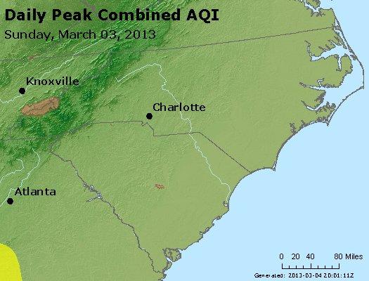 Peak AQI - http://files.airnowtech.org/airnow/2013/20130303/peak_aqi_nc_sc.jpg