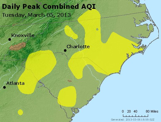Peak AQI - http://files.airnowtech.org/airnow/2013/20130305/peak_aqi_nc_sc.jpg