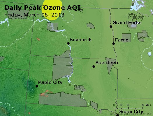 Peak Ozone (8-hour) - http://files.airnowtech.org/airnow/2013/20130308/peak_o3_nd_sd.jpg