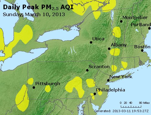 Peak Particles PM<sub>2.5</sub> (24-hour) - http://files.airnowtech.org/airnow/2013/20130310/peak_pm25_ny_pa_nj.jpg