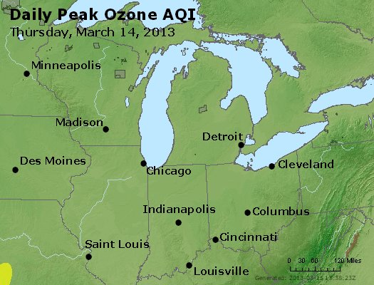 Peak Ozone (8-hour) - http://files.airnowtech.org/airnow/2013/20130314/peak_o3_mi_in_oh.jpg