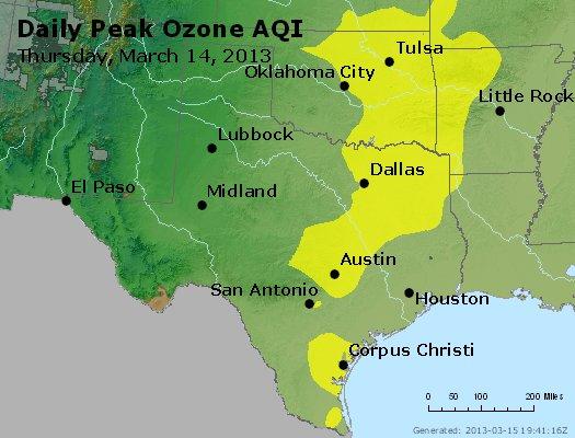 Peak Ozone (8-hour) - http://files.airnowtech.org/airnow/2013/20130314/peak_o3_tx_ok.jpg