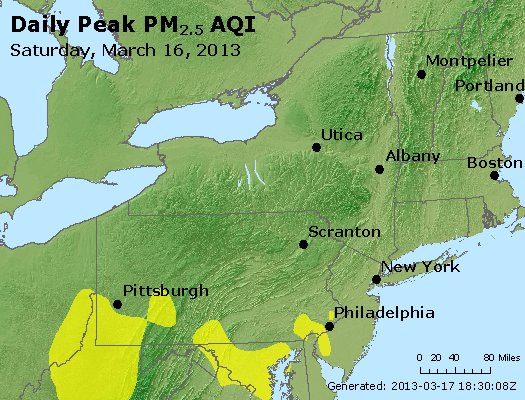 Peak Particles PM<sub>2.5</sub> (24-hour) - http://files.airnowtech.org/airnow/2013/20130316/peak_pm25_ny_pa_nj.jpg