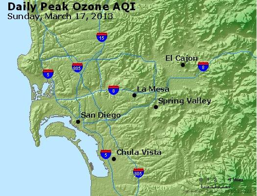 Peak Ozone (8-hour) - http://files.airnowtech.org/airnow/2013/20130317/peak_o3_sandiego_ca.jpg