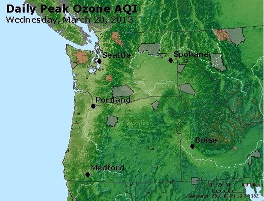 Peak Ozone (8-hour) - http://files.airnowtech.org/airnow/2013/20130320/peak_o3_wa_or.jpg