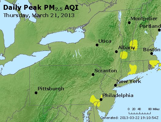 Peak Particles PM<sub>2.5</sub> (24-hour) - http://files.airnowtech.org/airnow/2013/20130321/peak_pm25_ny_pa_nj.jpg