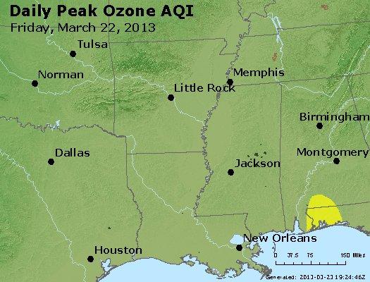 Peak Ozone (8-hour) - http://files.airnowtech.org/airnow/2013/20130322/peak_o3_ar_la_ms.jpg