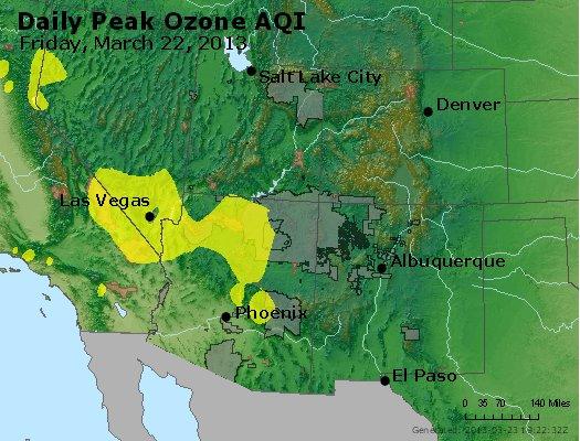 Peak Ozone (8-hour) - http://files.airnowtech.org/airnow/2013/20130322/peak_o3_co_ut_az_nm.jpg
