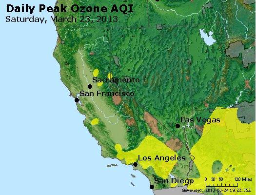Peak Ozone (8-hour) - http://files.airnowtech.org/airnow/2013/20130323/peak_o3_ca_nv.jpg