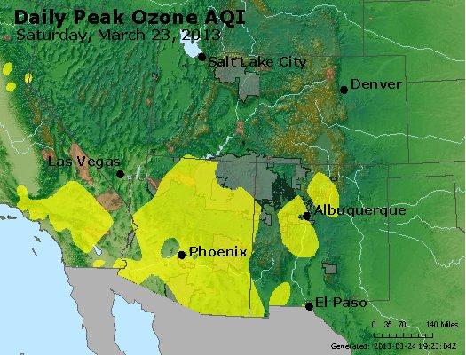Peak Ozone (8-hour) - http://files.airnowtech.org/airnow/2013/20130323/peak_o3_co_ut_az_nm.jpg