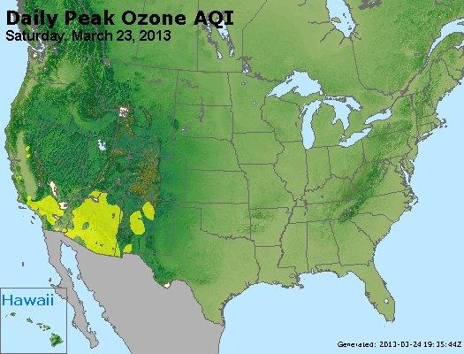 Peak Ozone (8-hour) - http://files.airnowtech.org/airnow/2013/20130323/peak_o3_usa.jpg