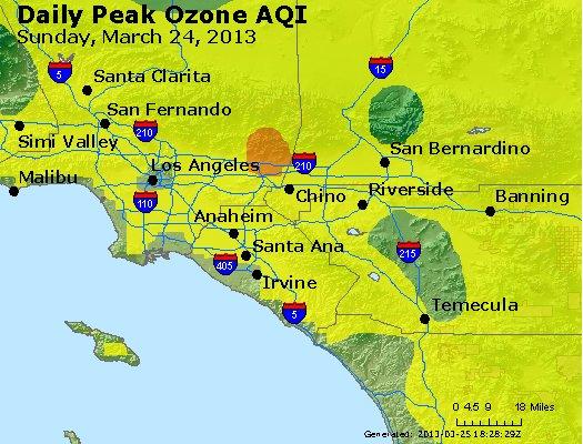 Peak Ozone (8-hour) - http://files.airnowtech.org/airnow/2013/20130324/peak_o3_losangeles_ca.jpg