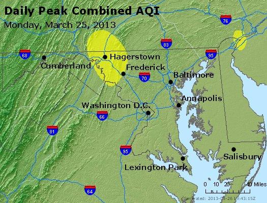 Peak AQI - http://files.airnowtech.org/airnow/2013/20130325/peak_aqi_maryland.jpg