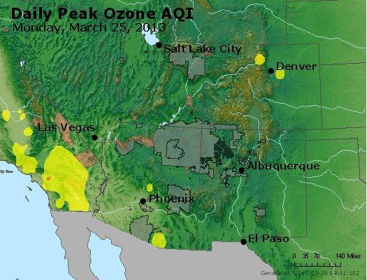 Peak Ozone (8-hour) - http://files.airnowtech.org/airnow/2013/20130325/peak_o3_co_ut_az_nm.jpg