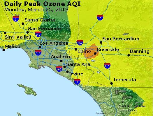 Peak Ozone (8-hour) - http://files.airnowtech.org/airnow/2013/20130325/peak_o3_losangeles_ca.jpg
