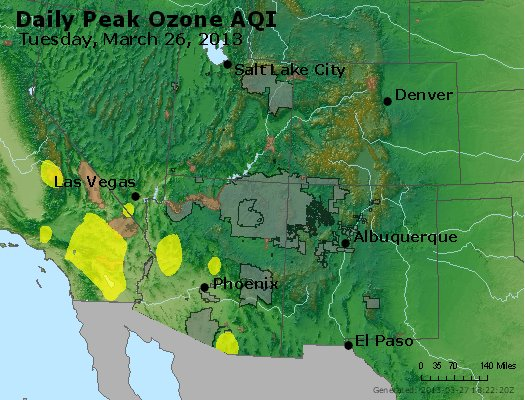 Peak Ozone (8-hour) - http://files.airnowtech.org/airnow/2013/20130326/peak_o3_co_ut_az_nm.jpg