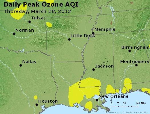 Peak Ozone (8-hour) - http://files.airnowtech.org/airnow/2013/20130328/peak_o3_ar_la_ms.jpg