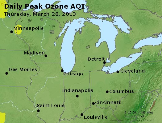Peak Ozone (8-hour) - http://files.airnowtech.org/airnow/2013/20130328/peak_o3_mi_in_oh.jpg