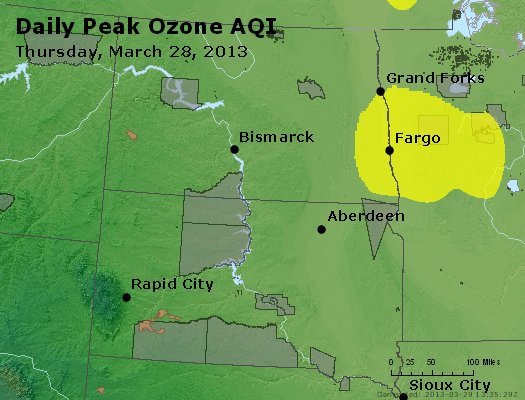Peak Ozone (8-hour) - http://files.airnowtech.org/airnow/2013/20130328/peak_o3_nd_sd.jpg