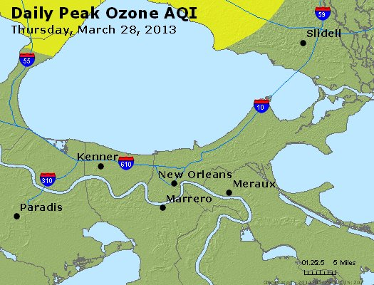 Peak Ozone (8-hour) - http://files.airnowtech.org/airnow/2013/20130328/peak_o3_neworleans_la.jpg