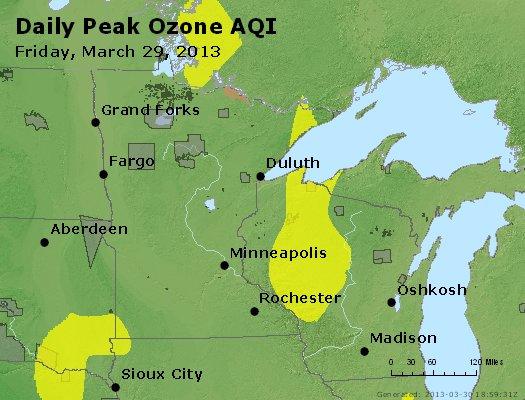 Peak Ozone (8-hour) - http://files.airnowtech.org/airnow/2013/20130329/peak_o3_mn_wi.jpg