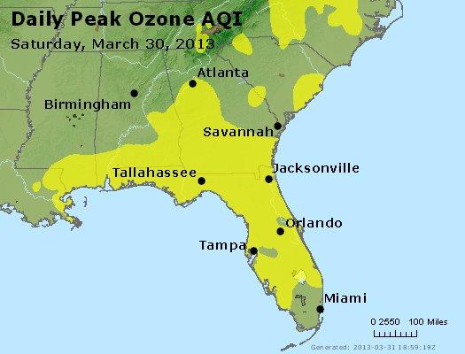 Peak Ozone (8-hour) - http://files.airnowtech.org/airnow/2013/20130330/peak_o3_al_ga_fl.jpg