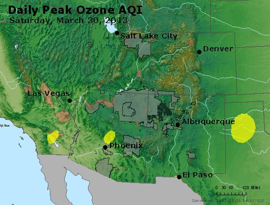 Peak Ozone (8-hour) - http://files.airnowtech.org/airnow/2013/20130330/peak_o3_co_ut_az_nm.jpg