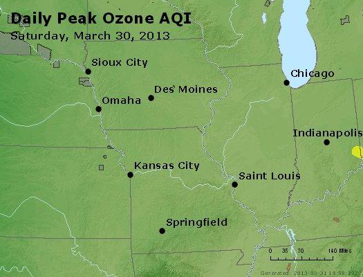 Peak Ozone (8-hour) - http://files.airnowtech.org/airnow/2013/20130330/peak_o3_ia_il_mo.jpg