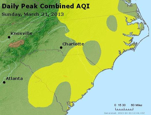 Peak AQI - http://files.airnowtech.org/airnow/2013/20130331/peak_aqi_nc_sc.jpg