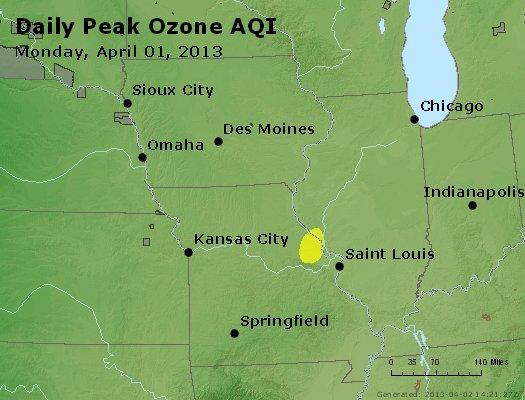 Peak Ozone (8-hour) - http://files.airnowtech.org/airnow/2013/20130401/peak_o3_ia_il_mo.jpg