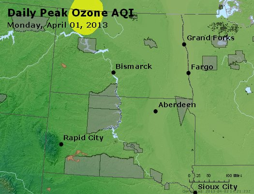 Peak Ozone (8-hour) - http://files.airnowtech.org/airnow/2013/20130401/peak_o3_nd_sd.jpg