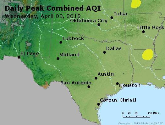 Peak AQI - http://files.airnowtech.org/airnow/2013/20130403/peak_aqi_tx_ok.jpg