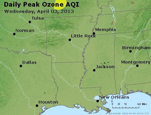 Peak Ozone (8-hour) - http://files.airnowtech.org/airnow/2013/20130403/peak_o3_ar_la_ms.jpg