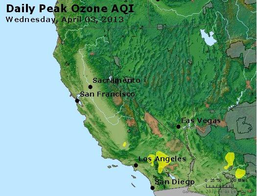 Peak Ozone (8-hour) - http://files.airnowtech.org/airnow/2013/20130403/peak_o3_ca_nv.jpg