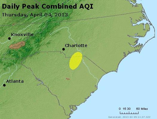 Peak AQI - http://files.airnowtech.org/airnow/2013/20130404/peak_aqi_nc_sc.jpg