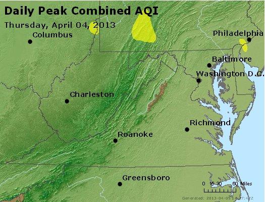 Peak AQI - http://files.airnowtech.org/airnow/2013/20130404/peak_aqi_va_wv_md_de_dc.jpg