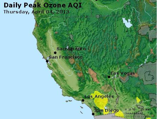 Peak Ozone (8-hour) - http://files.airnowtech.org/airnow/2013/20130404/peak_o3_ca_nv.jpg