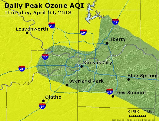 Peak Ozone (8-hour) - http://files.airnowtech.org/airnow/2013/20130404/peak_o3_kansascity_mo.jpg