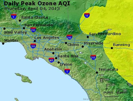 Peak Ozone (8-hour) - http://files.airnowtech.org/airnow/2013/20130404/peak_o3_losangeles_ca.jpg