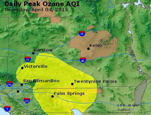 Peak Ozone (8-hour) - http://files.airnowtech.org/airnow/2013/20130404/peak_o3_sanbernardino_ca.jpg