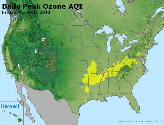 Peak Ozone (8-hour) - http://files.airnowtech.org/airnow/2013/20130405/peak_o3_usa.jpg