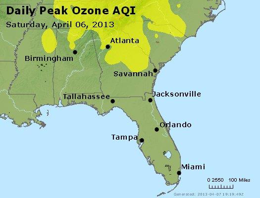 Peak Ozone (8-hour) - http://files.airnowtech.org/airnow/2013/20130406/peak_o3_al_ga_fl.jpg