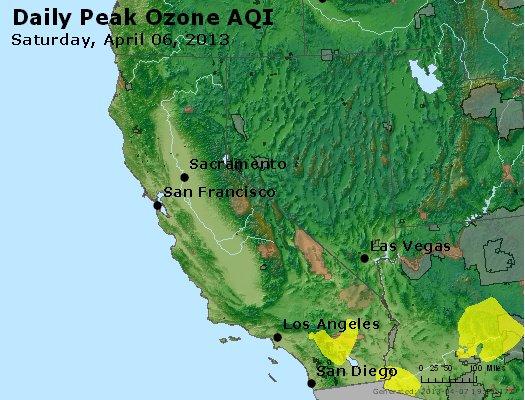 Peak Ozone (8-hour) - http://files.airnowtech.org/airnow/2013/20130406/peak_o3_ca_nv.jpg