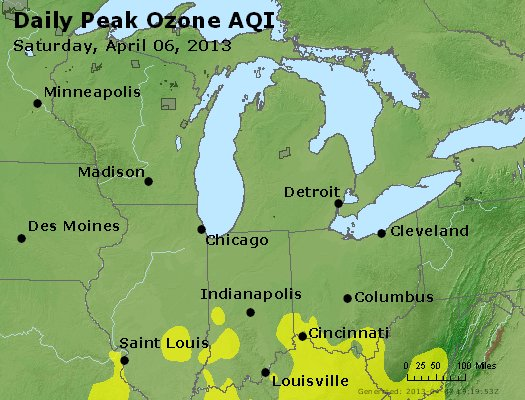 Peak Ozone (8-hour) - http://files.airnowtech.org/airnow/2013/20130406/peak_o3_mi_in_oh.jpg