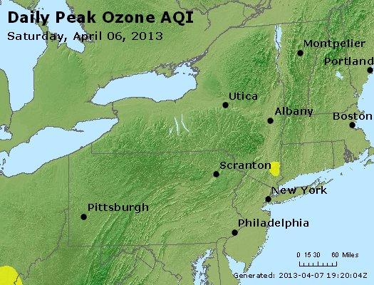 Peak Ozone (8-hour) - http://files.airnowtech.org/airnow/2013/20130406/peak_o3_ny_pa_nj.jpg
