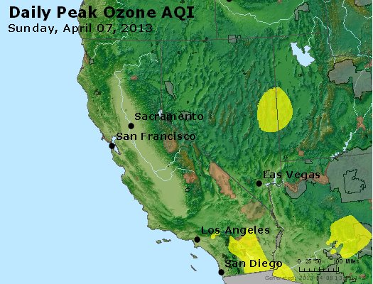 Peak Ozone (8-hour) - http://files.airnowtech.org/airnow/2013/20130407/peak_o3_ca_nv.jpg