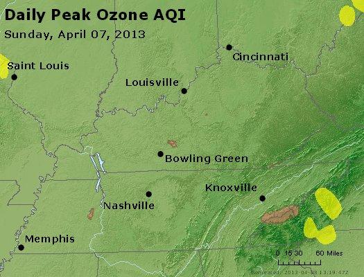 Peak Ozone (8-hour) - http://files.airnowtech.org/airnow/2013/20130407/peak_o3_ky_tn.jpg