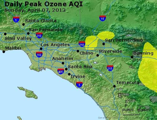 Peak Ozone (8-hour) - http://files.airnowtech.org/airnow/2013/20130407/peak_o3_losangeles_ca.jpg