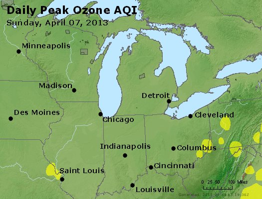 Peak Ozone (8-hour) - http://files.airnowtech.org/airnow/2013/20130407/peak_o3_mi_in_oh.jpg